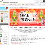 【グラフィコ オンライン】お年玉福袋キャンペーン、お得なセットがお得な価格で購入できる